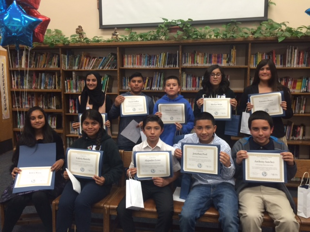 Lennox induction_7th Graders