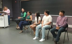 PSP Alumni answer students' questions about college