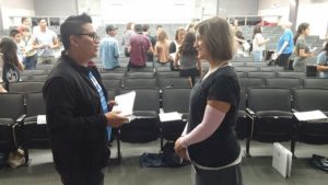 Students learn valuable networking skills