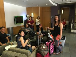 Scholars arrive at USC residence hall
